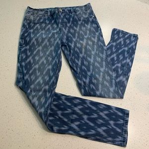 5/$20 Justice simply low Aztec print jeggings